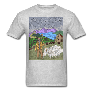 Sheeple T-Shirt - heather gray