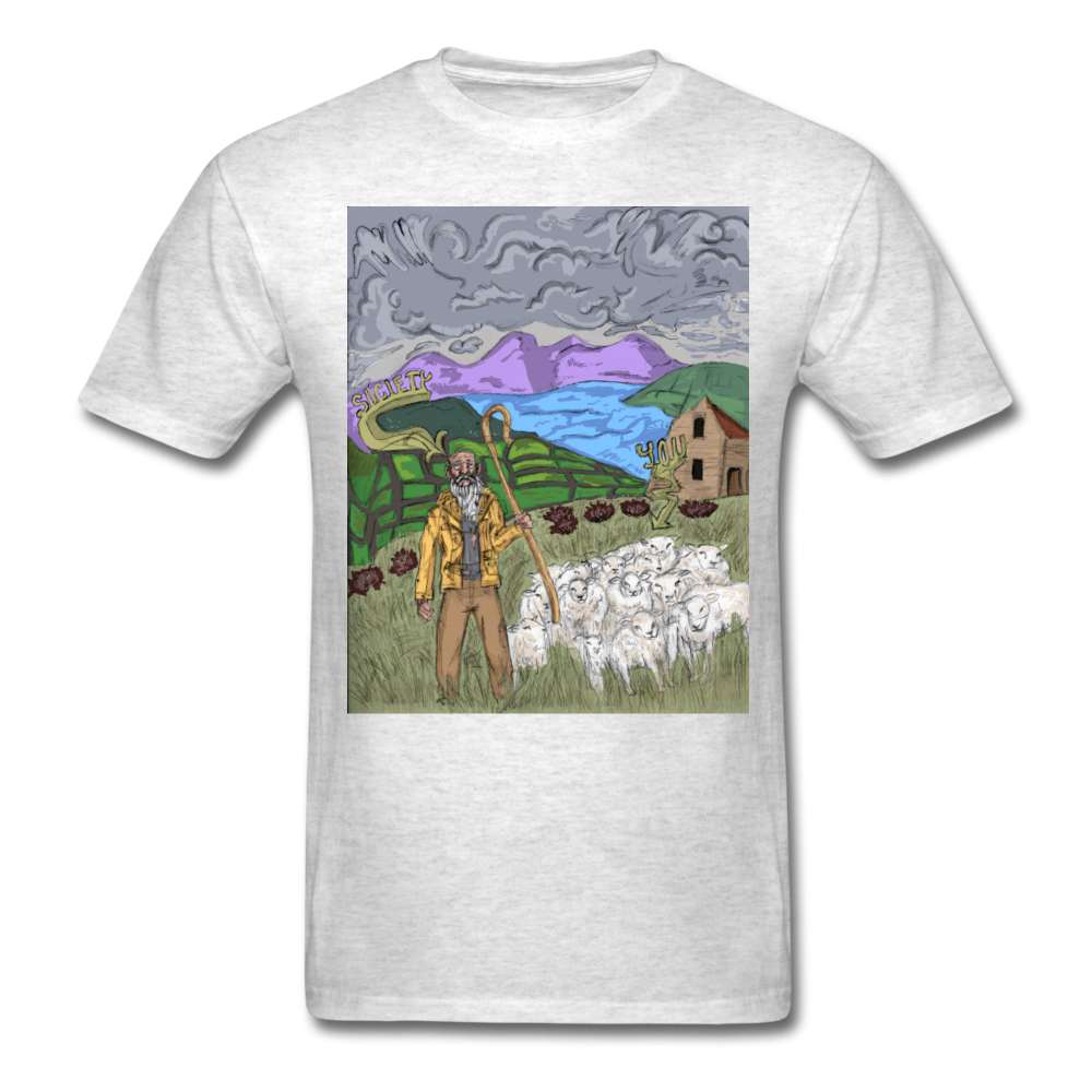 Sheeple T-Shirt - light heather gray