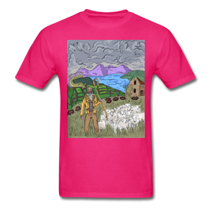 Sheeple T-Shirt - fuchsia