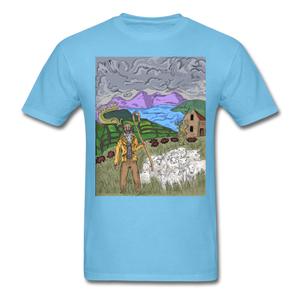 Sheeple T-Shirt - aquatic blue