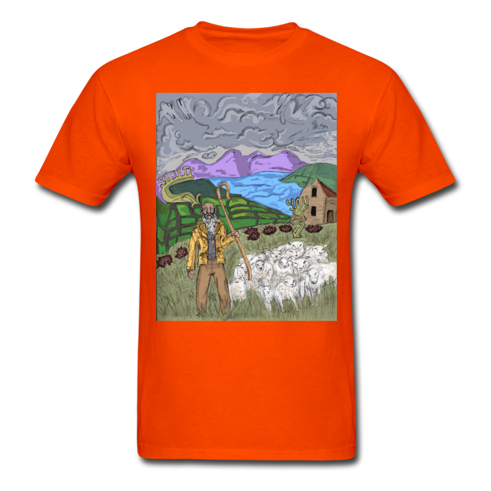 Sheeple T-Shirt - orange