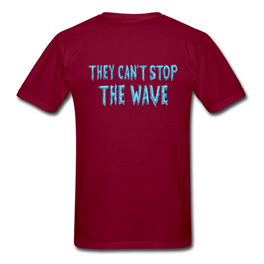 """Heatwave"" Unisex T-Shirt - burgundy"