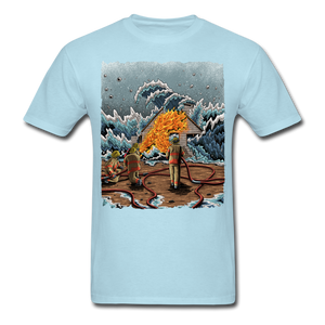 """Heatwave"" Unisex T-Shirt - powder blue"
