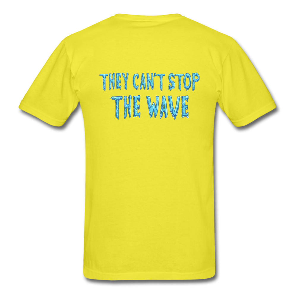"""Heatwave"" Unisex T-Shirt - yellow"