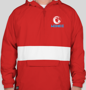 Red/White Wimbi Windbreaker