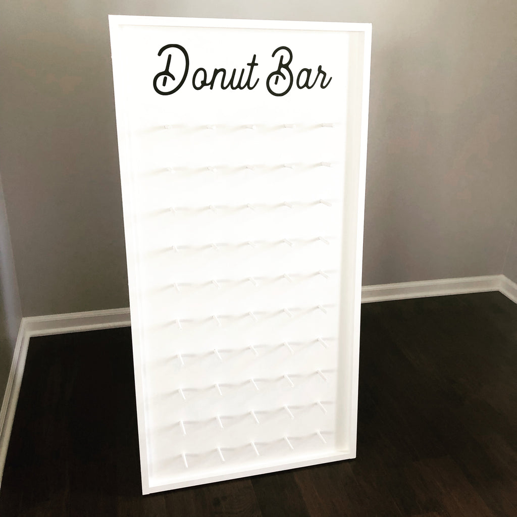 """Donut Bar"" Donut Wall - TreatWalls"
