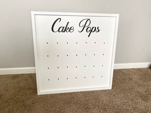 Tabletop Cake Pop Wall - TreatWalls