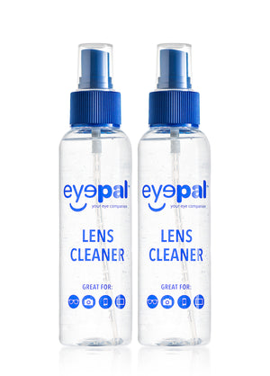 2 pack lens cleaner spray from eyepal vision