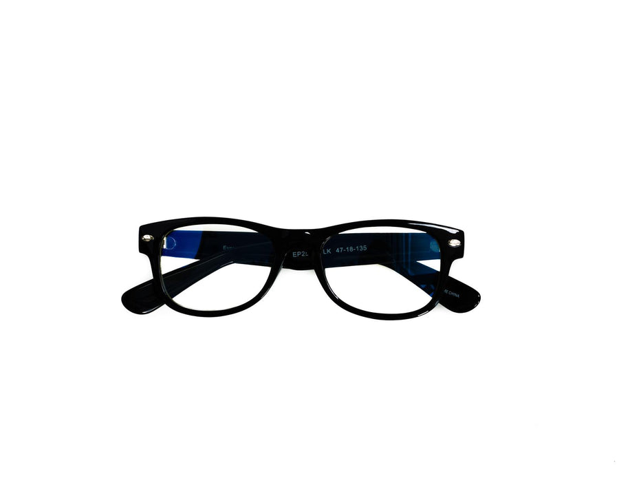 eyepal - black blue light filtered glasses eye pal vision