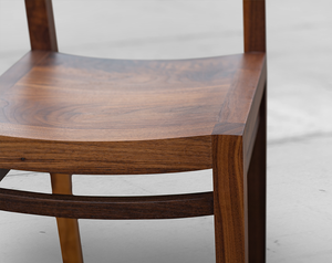 Wooden Dining Chairs in Walnut