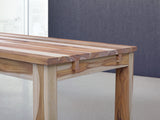 15 FT Extendible Wood Dining Table in Teak