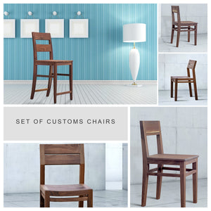 Custom Dining Chairs – Your Choice of Wood and Style