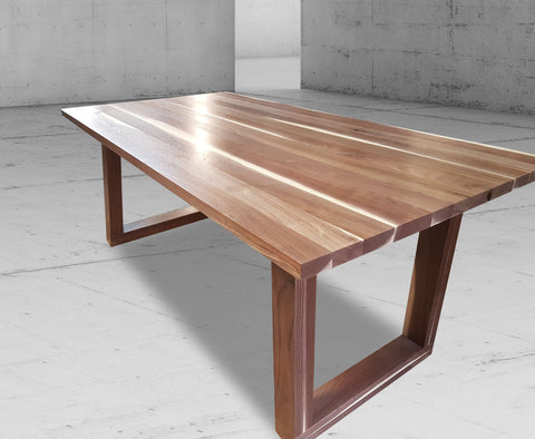 Groovy Custom Made Solid Wood Dining Tables Adh Woodwork Download Free Architecture Designs Rallybritishbridgeorg