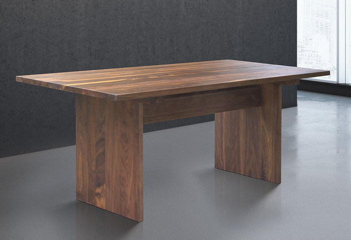 Solid Wood Dining Table in Walnut
