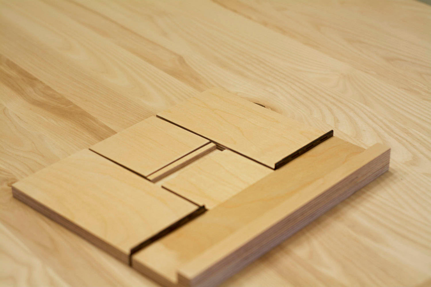 Wooden Cookbook Or Ipad Stand In Birch Plywood Adh Woodwork