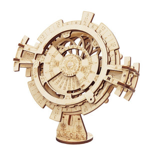 Rokr Diy 3d Wooden Puzzle Mechanical Gear Drive Model Toys