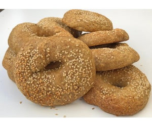 Low Carb NY Style Sesame Seed Bagels 3 pack - Fresh Baked