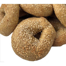 Load image into Gallery viewer, Low Carb NY Style Sesame Seed Bagels 3 pack - Fresh Baked