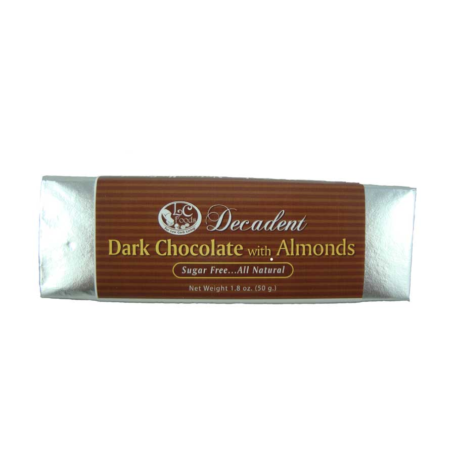Decadent Dark Chocolate Almond Bar