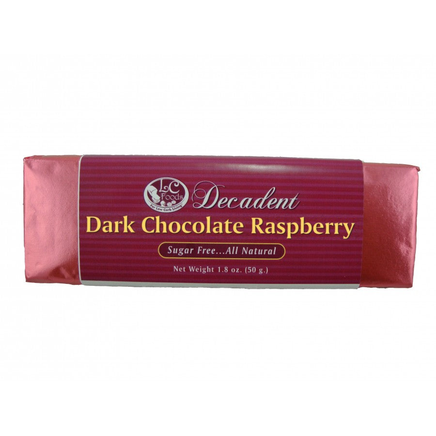 Decadent Dark Chocolate Raspberry Bar