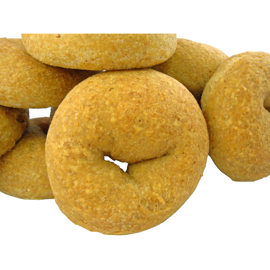 Low Carb NY Style Plain Bagels 12 pack - Fresh Baked