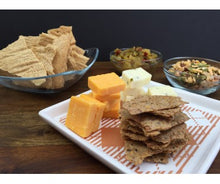 Load image into Gallery viewer, Low Carb Chia Crackers - Fresh Baked