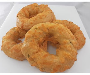 Low Carb NY Style Jalapeno Cheddar Bagels 10 pack - Fresh Baked