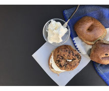 Load image into Gallery viewer, Low Carb NY Style Onion Garlic Bagels 3 pack - Fresh Baked