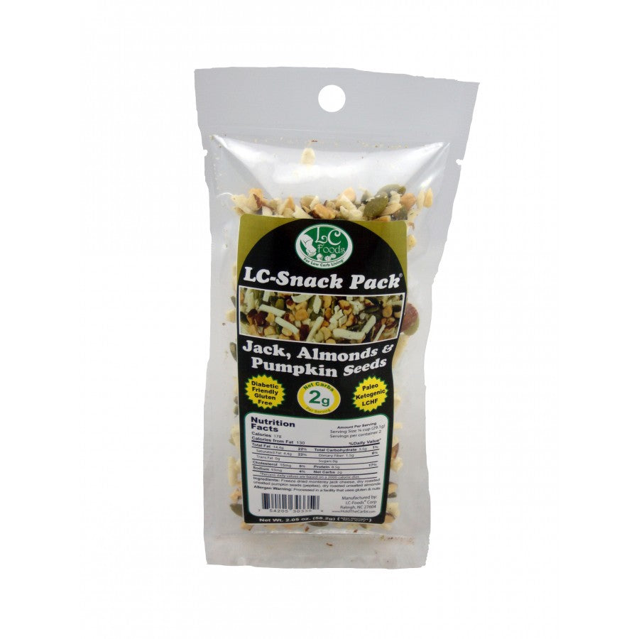Monterey Jack Almonds and Pumpkin Seeds Snack Pack