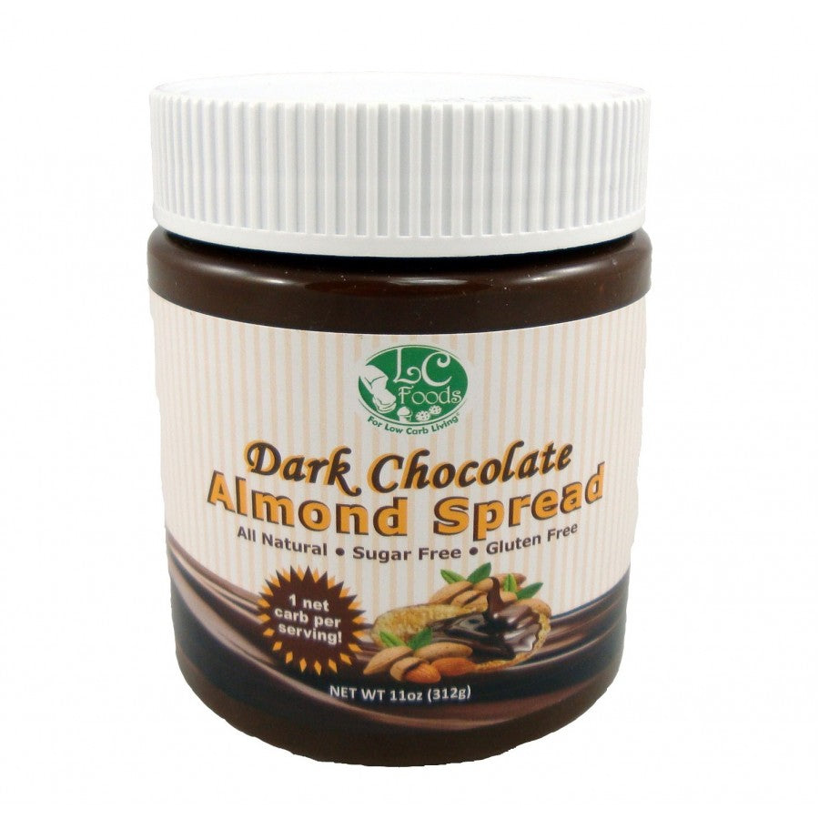 Low Carb Dark Chocolate Almond Spread
