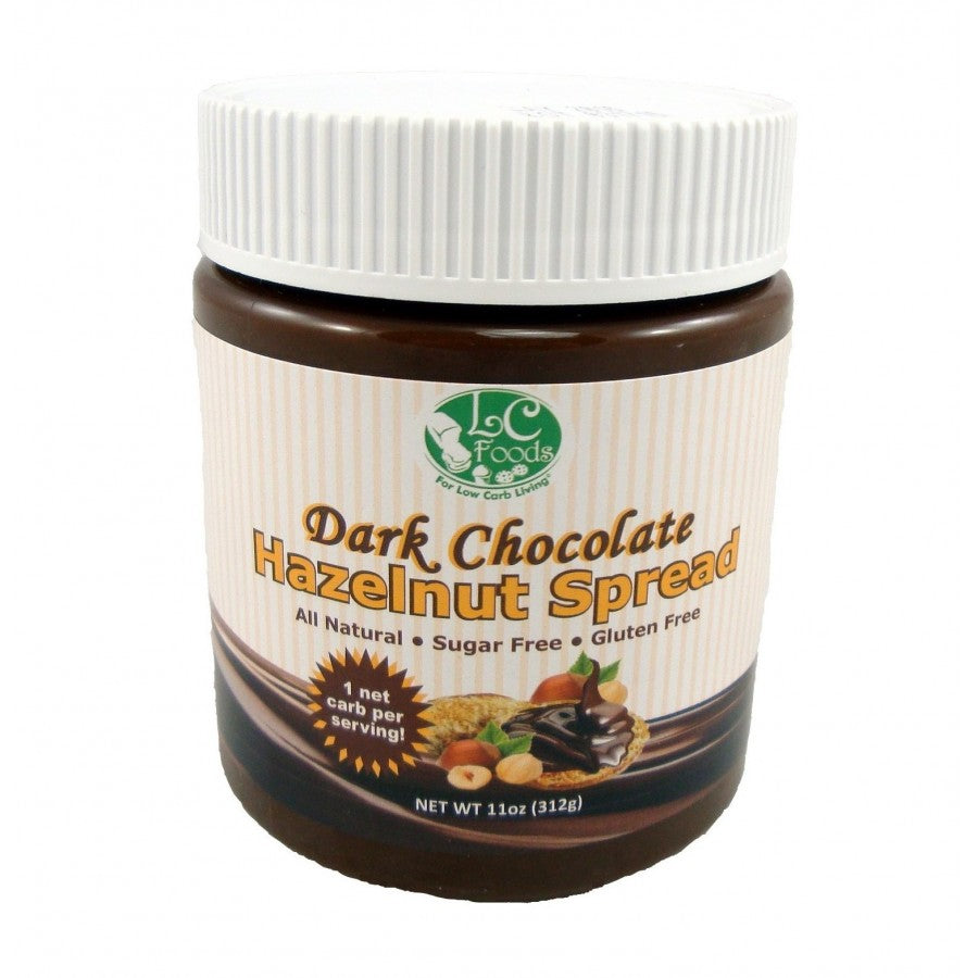 Low Carb Dark Chocolate Hazelnut Spread