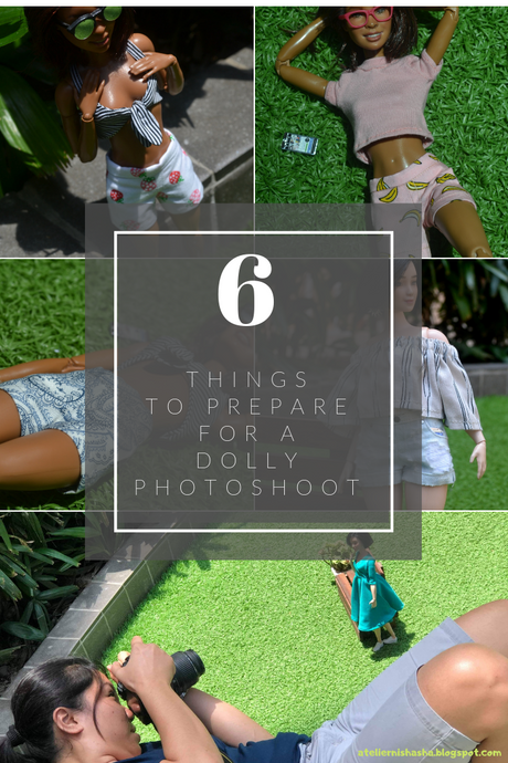 6 things to prepare for a dolly photo shoot