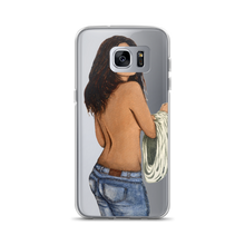 Load image into Gallery viewer, Hidden Face Lolita Samsung Case by atelierniSHASHA