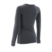Charcoal Women's Long Sleeve V-Neck