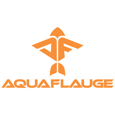 Orange Flying Fish Decal - aquaflauge