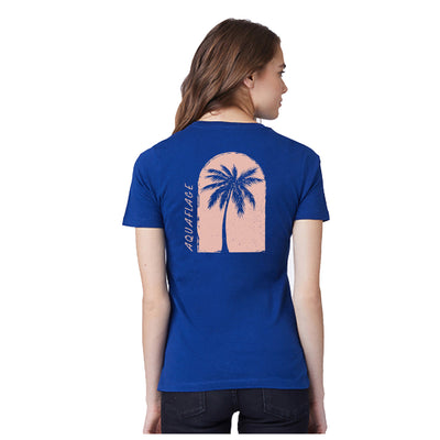 Island Plants Blue Depths Short Sleeve T-Shirt