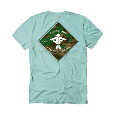 Diamond Men's Short Sleeve Mint T-Shirt