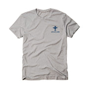 Fish Flag Men's Short Sleeve Athletic Heather T-Shirt