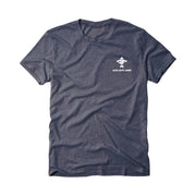 Fish Flag Men's Short Sleeve Navy T-Shirt
