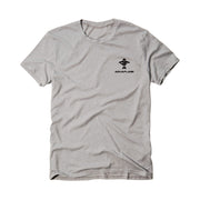 The Fishing Master Men's Short Sleeve Athletic Heather T-Shirt