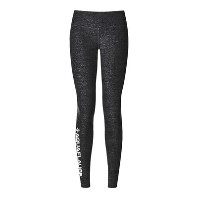 Black Heathered Women's Yoga Pants