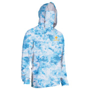 Men's Rubicon Shield Clouds Performance Hoodie With Mask
