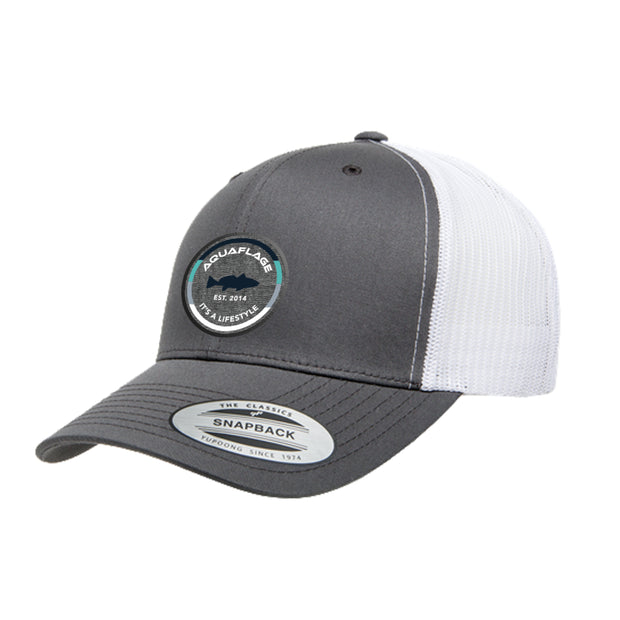 It's a Lifestyle Grey/White Trucker Hat