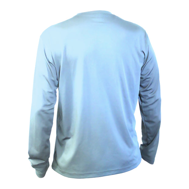 Youth Performance Long Sleeve Arctic Blue T-Shirt