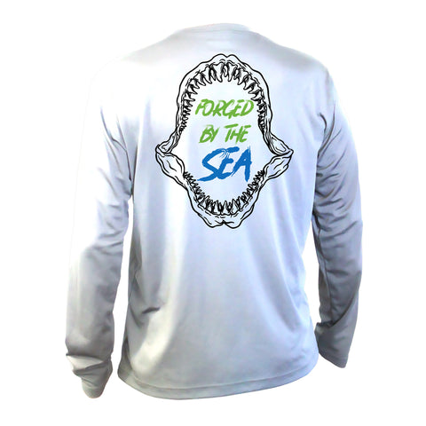 Youth Performance Long Sleeve Shark Bite Shirt