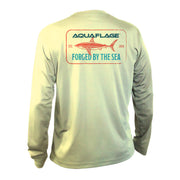 Youth Performance Long Sleeve Swimming Shark Shirt