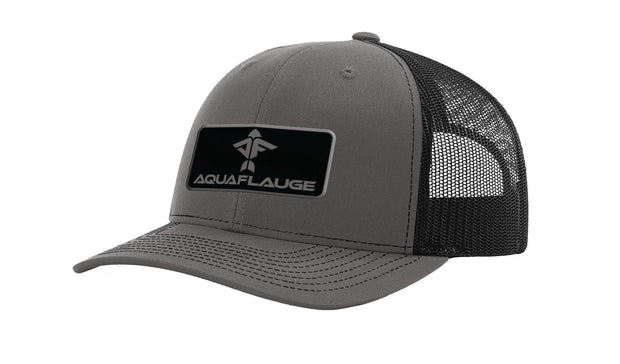 OG Black Trucker Hat - aquaflauge