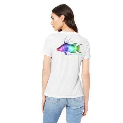 Rainbow Hogfish T-Shirt - aquaflauge