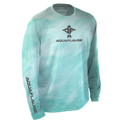 Storm Series Searform Men's Long Sleeve Performance Shirt - aquaflauge