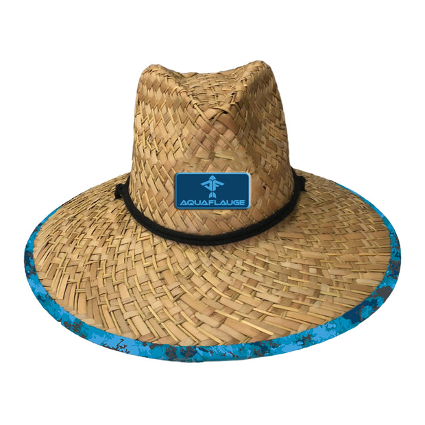 Dark Clouds Straw Lifeguard Hat